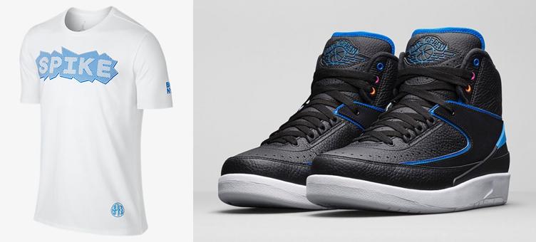 official buying cheap huge discount Air Jordan 2 Radio Raheem Shirt White | SneakerFits.com