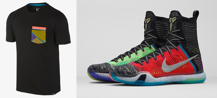 "c317905fb2a5 Nike Kobe X Elite ""What the"" T-Shirt"