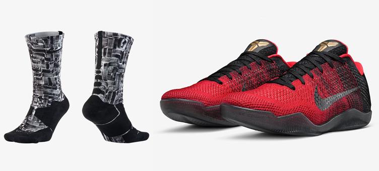 sale retailer e2cb8 c7ca9 nike-kobe-11-achilles-heel-hyper-elite-socks