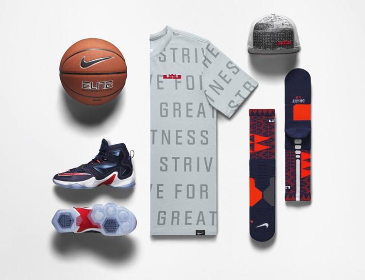 ff82150b168b Nike LeBron 13 Team Midnight Navy Clothing
