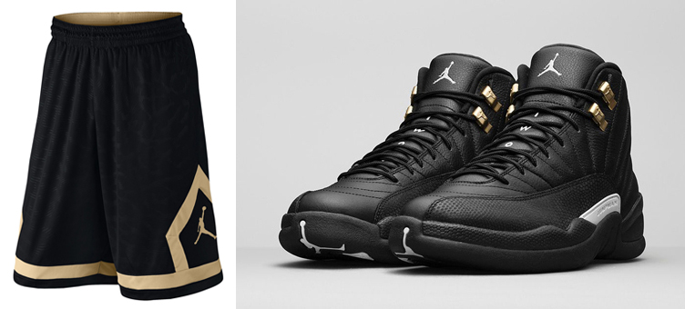 38bf84125b5 Air Jordan 12 Master Flight Diamond Shorts | SneakerFits.com