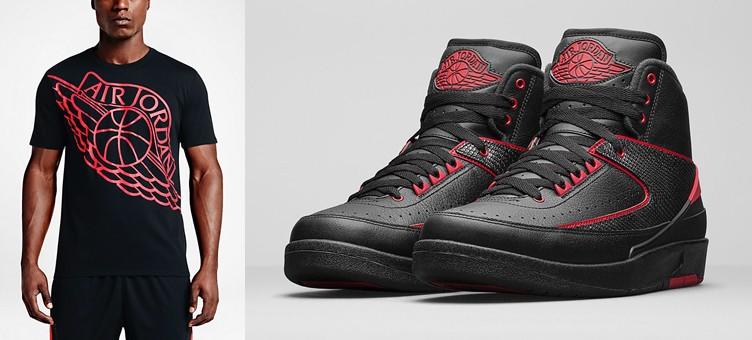 """Air Jordan 2 Retro """"Alternate 87"""" x Air Jordan Wingspan T-Shirt"""