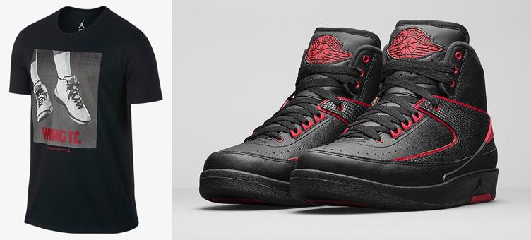 c875b98539f Air Jordan 2 Alternate Wing It Shirt | SneakerFits.com