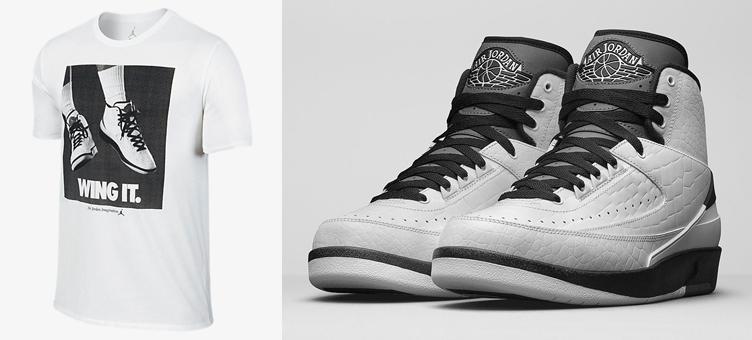 da90ac3a823 Air Jordan 2 Wing it Shirt | SneakerFits.com