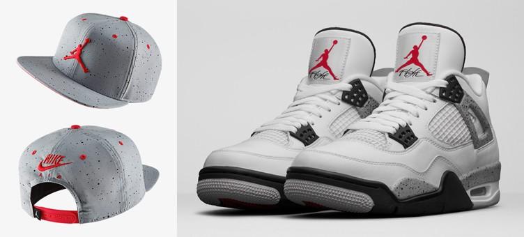 air-jordan-4-white-cement-hat