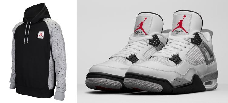 air-jordan-4-white-cement-speckle-hoodie