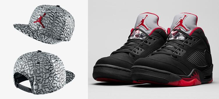 Air Jordan 5 Alternate 90 Jumpman Hat Sneakerfits Com