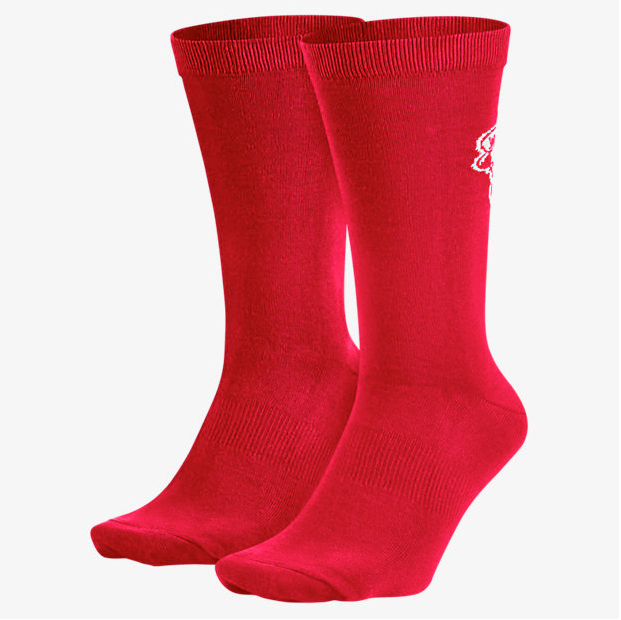 air-jordan-5-low-socks-red-1