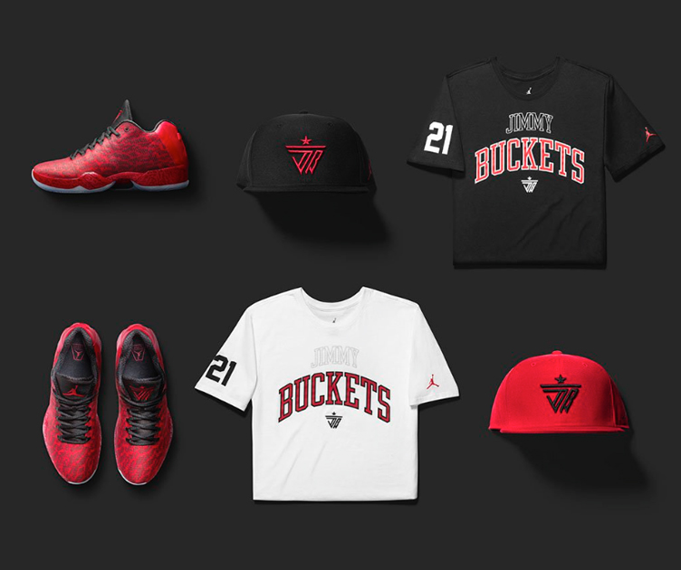 25743db9fd5d Jordan Jimmy Butler XX9 Shirt and Hat