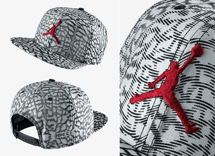 Jordan Cap Snapback Cement