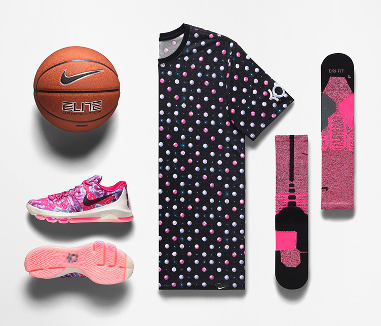 uk availability 4f3d3 9c090 closeout nike kd 8 aunt pearl floral print a2d1a a7b71