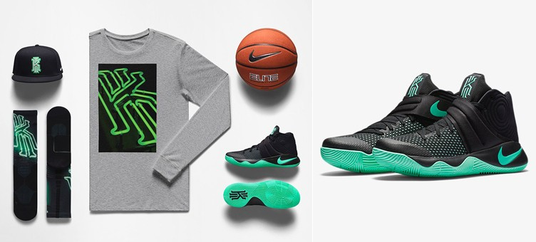 "Nike Kyrie 2 ""Green Glow"" Clothing 