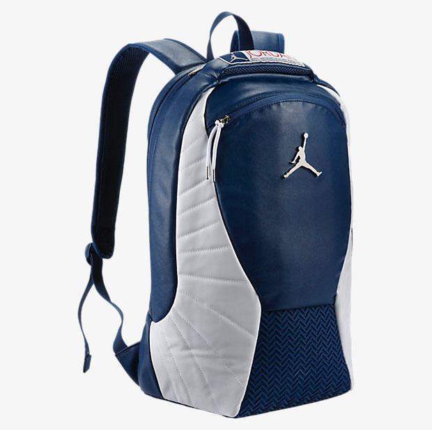 89e329101 Air Jordan 12 French Blue Backpack | SneakerFits.com