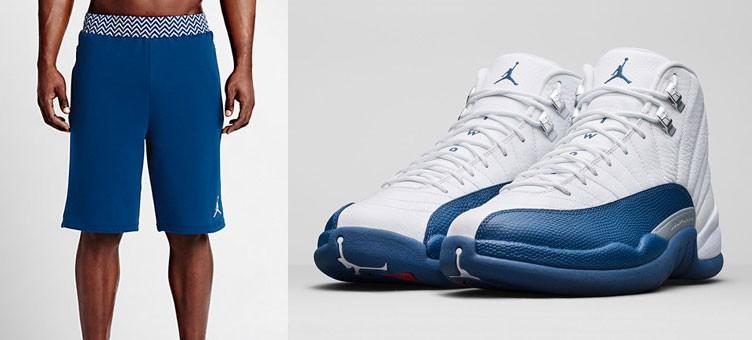 air-jordan-12-retro-french-blue-shorts