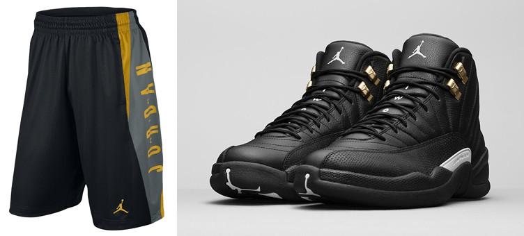air-jordan-12-the-master-jordan-shorts