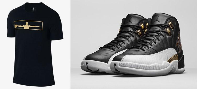 """Air Jordan 12 Retro """"Wings"""" x Jordan AJ 12 Wings T-Shirt"""