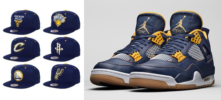 air-jordan-4-dunk-from-above-nba-hats-mitchell-and-ness