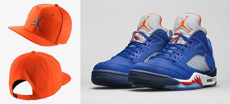 air-jordan-5-low-knicks-orange-hat
