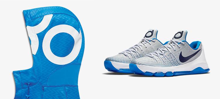 34ddeef83362 Nike KD 8 Home Hoodie