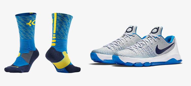 fd75f22ca522 ... Nike KD 8 Home Socks SneakerFits.com ...