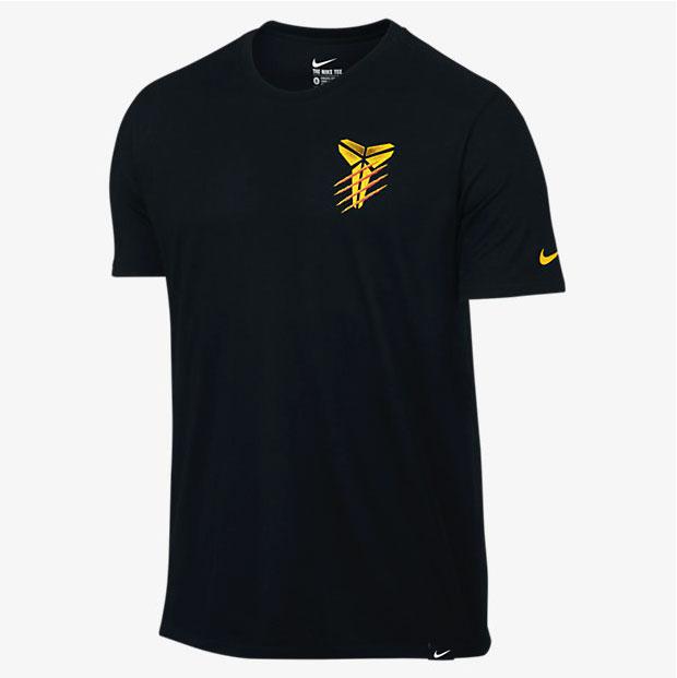 timeless design 13195 cc7f2 nike-kobe-11-bruce-lee-warrior-spirit-shirt-