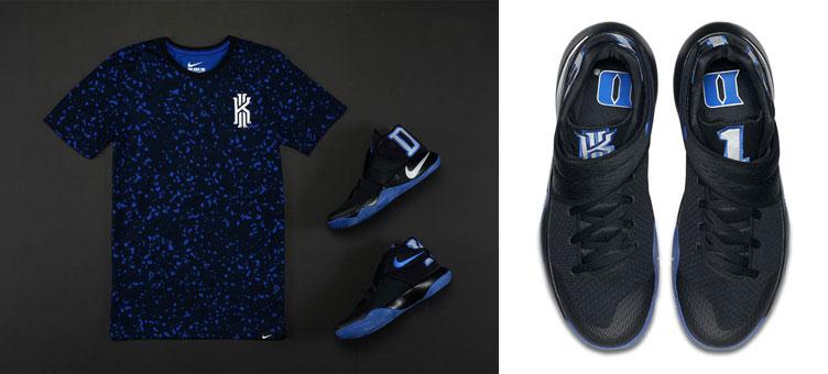 f76b4d3fff0 Nike Kyrie 2 Duke PE Notebook Shirt