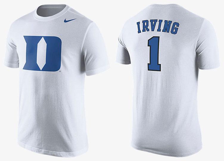 b0ec903b85a8 Nike Kyrie 2 Duke PE Kyrie Irving Shirt
