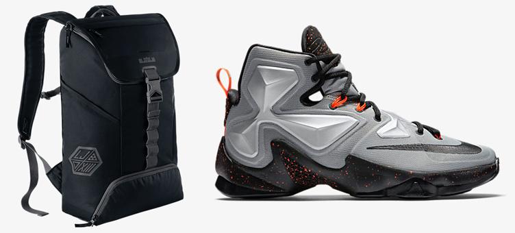 861df69453 Nike LeBron 13 Rubber City Backpack