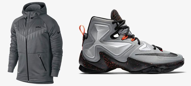 "Nike LeBron 13 ""Rubber City"" x Nike LeBron Ultimate Hyper Elite Basketball Hoodie"