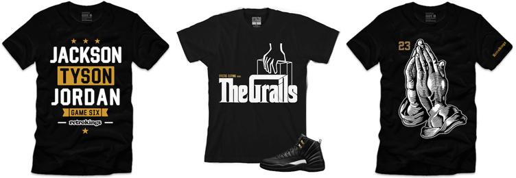 dd9732c19b24b5 Sneaker Shirts to Match the Air Jordan 12 The Master