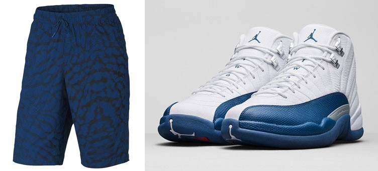 air-jordan-12-french-blue-city-shorts