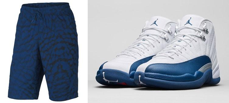 air-jordan-12-french-blue-city-shorts