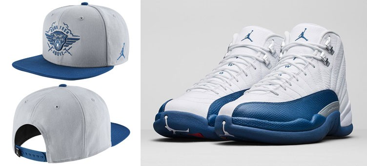 air-jordan-12-french-blue-dunk-from-above-hat