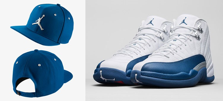 air-jordan-12-french-blue-jumpman-hat