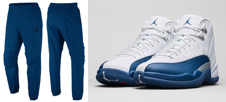 air-jordan-12-french-blue-pants