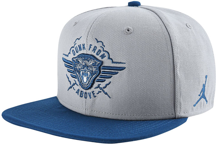 ... free shipping jordan french blue dunk from above hat 1 01319 322b7 ... 0b216f0ac06