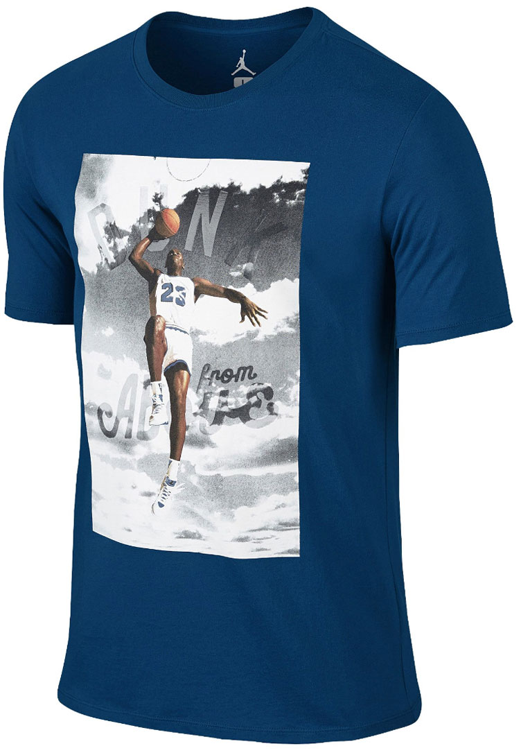 dcb1d82419147b Jordan Shirts to Match the Air Jordan 12 French Blue