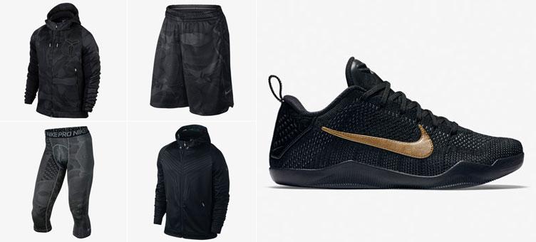 e5abd26f180 Nike Kobe 11 Black Mamba Day Clothing | SneakerFits.com