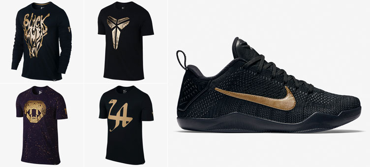 c71265be Nike Kobe 11 Black Mamba Shirts | SneakerFits.com