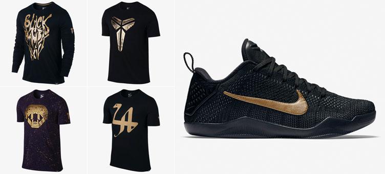 Nike Kobe 11 Black Mamba Shirts