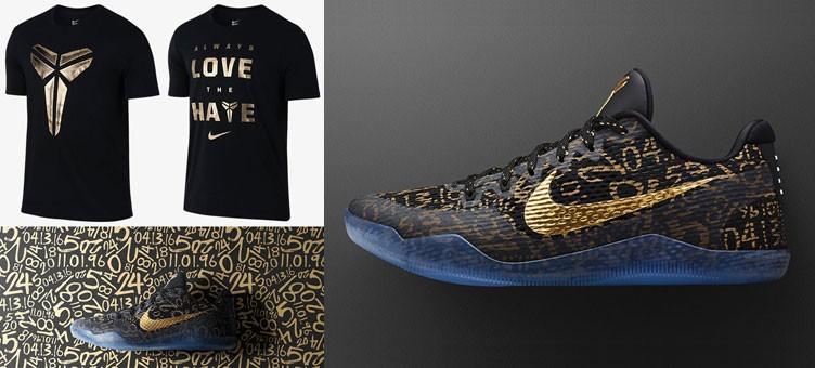 b99695bb64c Nike Kobe Mamba Day T-Shirts x Nike Kobe 11 Mamba Day iD