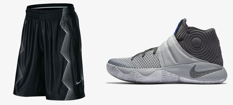"b5044d4fc1e58d Nike Kyrie 2 ""Neutral"" x Nike Kyrie Irving Elite Basketball Shorts"