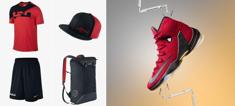 nike-lebron-13-elite-red-clothing
