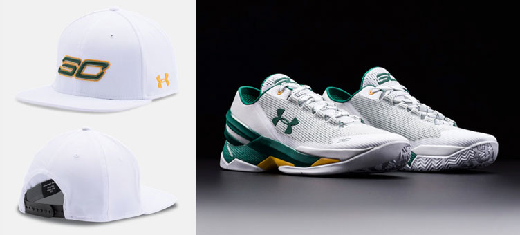 Under Armour Curry Two Low Bay Area Athletics Hat  72dde6b81d69