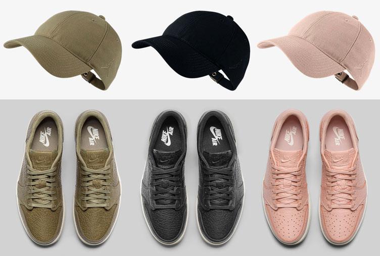 1ddf5e165095 Air Jordan 1 Low NS No Swoosh Hat