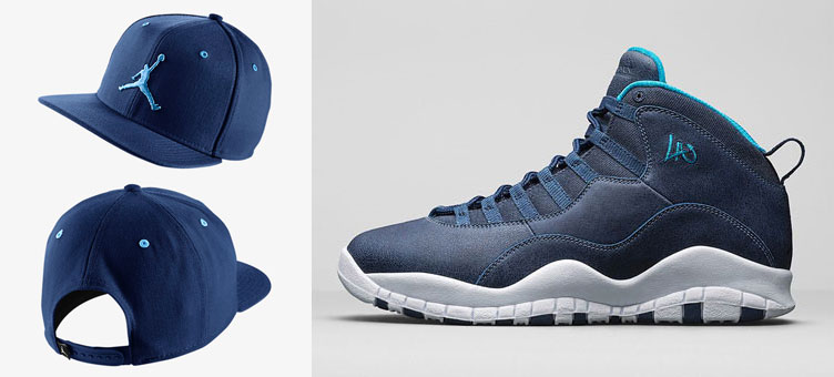 5f48bf8c Air Jordan 10 LA Jumpman Hat   SneakerFits.com