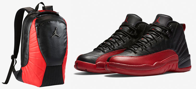 9b3d8a948a4 Air Jordan 12 Flu Game Backpack | SneakerFits.com