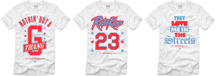 fa749405559668 Jordan 10 Chicago Sneaker Tees by Retro Kings