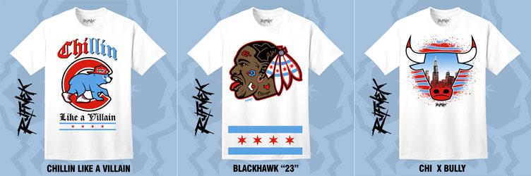 1e7d4c06942bf2 Jordan 10 Chicago Sneaker Match Shirts by Original RUFNEK ...