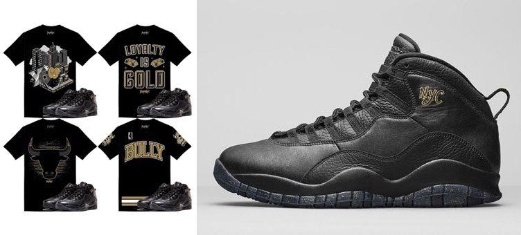 Air Jordan 10 u0026quot;NYCu0026quot; Clothing | SneakerFits.com